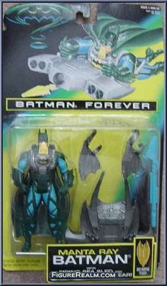"""1995 Batman Forever Kenner Soft Batman 16/"""" Peluche Figures NEW"""