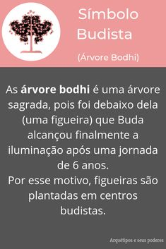 Árvore Bodhi Buddhist Symbols, Night Makeup, Thoughts And Feelings, Gods And Goddesses, Book Of Shadows, Self Development, Witchcraft, Reiki, Namaste