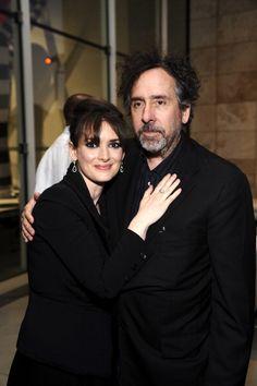 Winona Ryder and Tim Burton