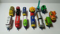 Chuggington Diecast Metal Train Lot - 11 Trains - 2 Freight Cars in Toys & Hobbies, TV, Movie & Character Toys, Other TV/Movie Character Toys | eBay