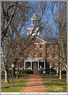 Realism Style Photographs & Journal of the Waterfront as well as Urban Landscapes, Culture, Notable Architecture, and History of Annapolis Maryland St Johns College, Brick Pathway, Annapolis Maryland, Pinterest Images, U.s. States, Urban Landscape, Pathways, Colonial, St John's