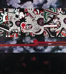 Buck Nin Artwork.  Love him Maori Patterns, Colonial Art, Polynesian Art, Nz Art, Matou, Maori Art, Art Themes, Art Boards, Amazing Art