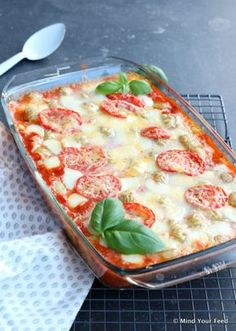 Italian casserole with potatoes and sausage - Mind Your Feed - Italian ovendish - I Love Food, Good Food, Yummy Food, Butter Chicken, Enchiladas, Oven Recipes, Healthy Recipes, Party Recipes, Healthy Food
