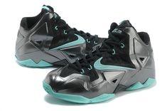 2c060a19e9e Nike LeBron XI Lava Metallic Silver Black Aqua Lebron James