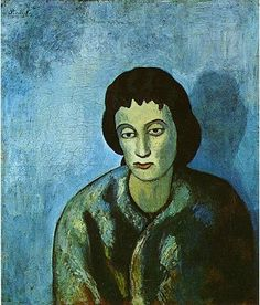 The woman with the edge - Pablo Picasso