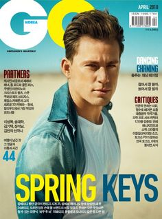 Channing Tatum Covers GQ Korea April 2010