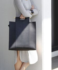 Studio leather tote bag - Made in Melbourne // entrepreneur // working woman // office // professional // // simple // style // fashion // bags // purse Fall Handbags, Leather Handbags, Leather Bags, Soft Leather, Leather Purses, Leather Totes, Leather Backpacks, Black Leather, Stylish Handbags