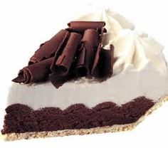 GF French Silk Pie - with a great GF crust