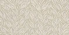 Leaves (MISP1028) - MissPrint Wallpapers - A graphic illustration of free flowing leaves drawn here in white on dove grey. Please ask for sample for true colour match.