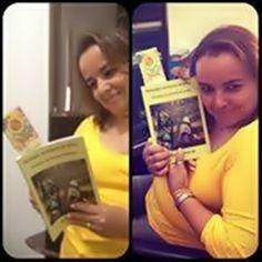 """A leitora atenciosa e sempre presente, Maria Selia, levou meus """"Deixados"""" lá para Brasília! Gratidão lindeza!"""