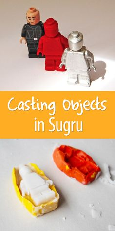 Make a cheap & simple mold out of a silicone compound called Sugru. From this heat-resistant mold one can create a create a pewter casting for jewelry and such.