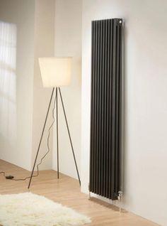 Hot water radiator / vertical / contemporary NEW LINE DELTACALOR