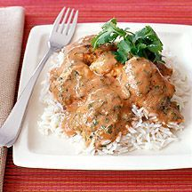 Poulet tikka masala - Recette Weight Watchers