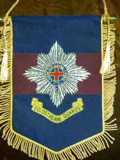 Coldstream Guards –Regimental banner. Military Uniforms, Division, Household, Banner, British, Colours, Armed Forces, Banner Stands, Banners