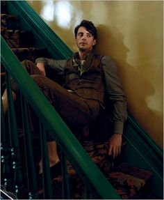 "Matthew Goode - from the adventures of tartanscot™: ""Town and Country . . . """