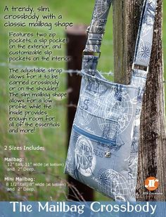 Looking for your next project? You're going to love The Mailbag Crossbody by designer RLR Creations.