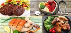 Imagens de Alimentos Permitidos na Dieta Low Carb