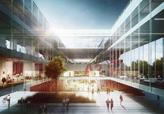 Maka-Sojka Architects Design Polish Public Television Headquarters in Warsaw,Courtesy of Maka-Sojka Architects