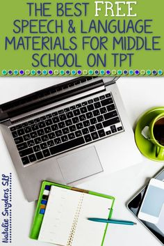 The best FREE speech and language materials for middle school on TpT