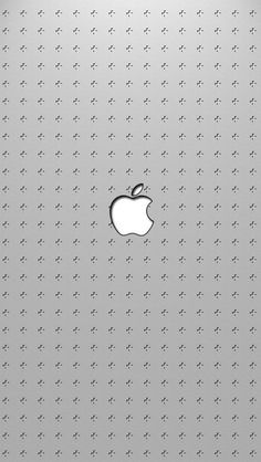 640x1136 Wallpaper apple, mac, logo, brand, gray, light