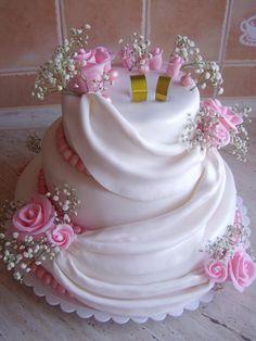 3patrový se závojem | dorty od mámy