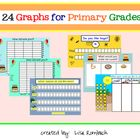 This smart board file (.notebook) contains 24  interactive graphs that are appropriate for primary grade children. $