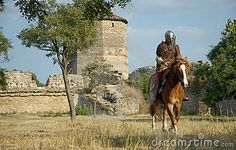 Castle Picture Medieval Knights | Medieval European Knight In The Castle Royalty Free Stock Images ...