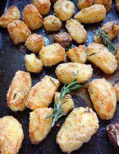 Πατάτες φούρνου με Κρούστα