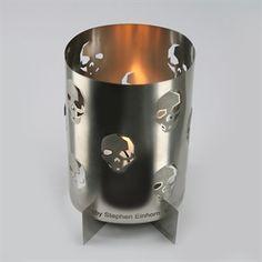 Skulls Candle Holder | Designer Skull, Gothic Accessories | Stephen Einhorn London