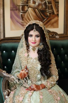 Pakistani Bridal Makeup, Bridal Mehndi Dresses, Pakistani Wedding Outfits, Muslim Brides, Pakistani Wedding Dresses, Bridal Outfits, Indian Bridal, Walima Dress, Wedding Gowns