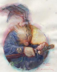 Bill Sienkiewicz's Usagi Yojimbo