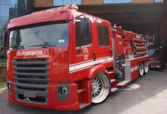 My view of a firetruck when I was young... Would have been like this