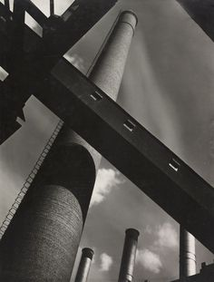 Nudes on sand and Ansel Adams: the pictures that changed photography – part three - Century - Chimney, c by Noel Griggs Grigg's photograph adopts the aesthetics of the modernist movemen - Ansel Adams Photography, Street Photography, Landscape Photography, Art Photography, Straight Photography, Photography Articles, Architectural Photography, Photography Lessons, Modernist Movement