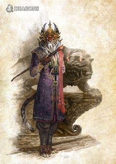Un rakshasa, par Gawain  Les manigances des rakshasa | DRAGONS - Le jeu de rôle