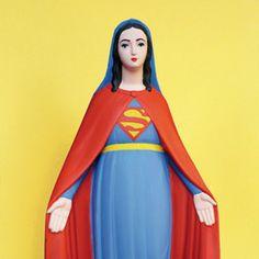 La vierge Marie revisitée par Soasig Chamaillard !