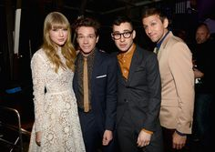 Taylor Swift, Nate Ruess, Jack Antonoff, and Andrew Dost