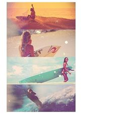 Surfing ❤ (I wish I knew how to surf...)