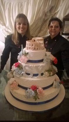 Wedding cake tema monumenti nel mondo