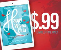 The New York Times bestselling Happy Wives Club eBook is only $.99 TODAY Only! It's available on Kindle, Nook, iBooks, and Google Play. Hurry and grab your copy!