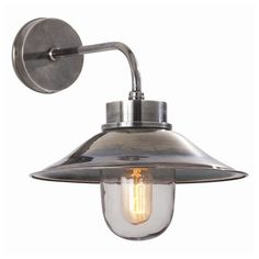 Tiffany craves: Arteriors Randel Vintage Silver Wall Lamp