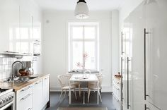 my scandinavian home: A Stockholm space with pretty colours