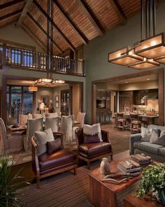 20+ Style Living Room Design Ideas in Cabin House | Decoration Ideas ...