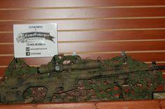 LWRC REPR painted by CamoConcepts #LWRC #REPR #camo #camoconcepts #rifle #badasspaint #rifle