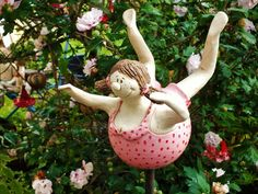 Clay Projects, Clay Crafts, Paper Crafts, Paper Mache Diy, Plus Size Art, Ceramic Workshop, Fat Art, Happy Paintings, Gourd Art