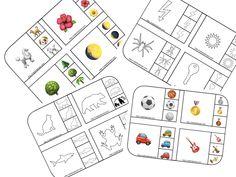 Dezvoltarea atentiei. Încercuieste/Coloreaza imaginea care se potriveste. Montessori, Diagram, Art, Art Background, Kunst, Performing Arts, Art Education Resources, Artworks