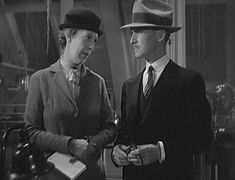 """""""The Penguin Pool Murder"""" (1932) with Edna May Oliver and James Gleason."""