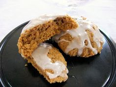 Aunt Peg's Recipe Box: Alaska- Iced Pumpkin Cookies