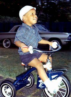 Barack Obama,con tres años de edad.