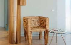 Unique Hotel Interior You Have Never Met : Extraordinary Wooden Chair Design On Wooden FLooring With Glass Table With Metal Stand In Grey Wa. Chair Design Wooden, Furniture Design, Solid Wood Kitchen Worktops, Superior Room, Hotel Interiors, Coffee Table Design, Wooden Flooring, Glass Table, Interior Design