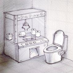 ¥200 あかん 笑う!! Art Jokes, Cool Drawings, Cool Art, Projects To Try, Cartoon, Humor, Illustration, Funny, Artwork